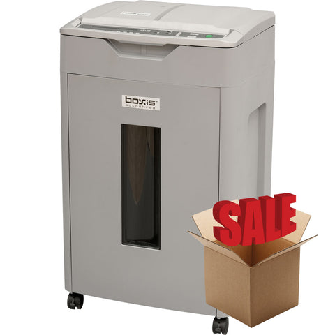 Boxis® AutoShred® 650 Sheet Autofeed Microcut Shredder AF650-R OPEN BOX