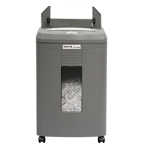 Boxis® AutoShred® 120 Sheet Autofeed Microcut Shredder AF120 -- in stock on JUNE 1st