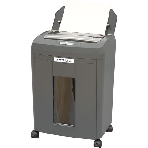 Boxis® AutoShred® 90 Sheet Autofeed Microcut Shredder AF90 -- in stock on JUN. 1st