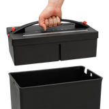 Sentinel® EZ Lift® 12-Sheet Crosscut Compaction Paper Shredder FX124BC