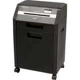 GoECOlife® Optimus Edition 8 Sheet Nano-cut® Commercial Under Desk Paper Shredder Black GHC85P-BLK-RP Repackaged