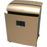 GoECOlife® Limited Edition 10 Sheet Microcut Paper Shredder GMW101Piii-RP Gold Repackaged
