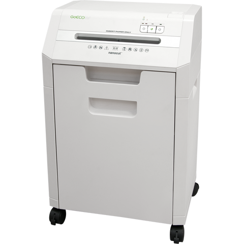 GoECOlife® Optimus Edition 8 Sheet Nano-cut® Commercial Under Desk Paper Shredder GHC85P