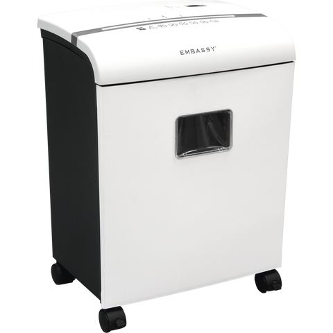 embassy paper shredder You should consider getting a paper shredder for your home office  many  shredders today will also take care of making those unreadable as.