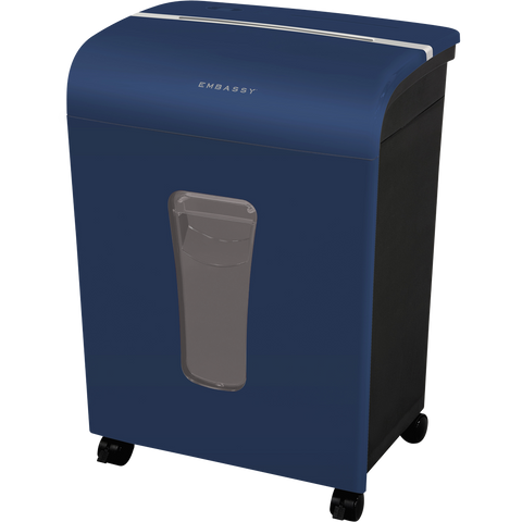 Embassy® 12 Sheet Microcut Paper Shredder LM120Piv Blue