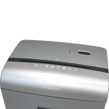 Embassy® 10 Sheet Microcut Paper Shredder LM101Pii Metallic Silver