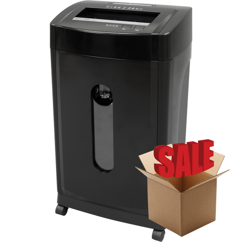 Sentinel® Pro High-Security 12 Sheet Microcut Commercial-Grade Paper Shredder FMC120P-R OPEN BOX