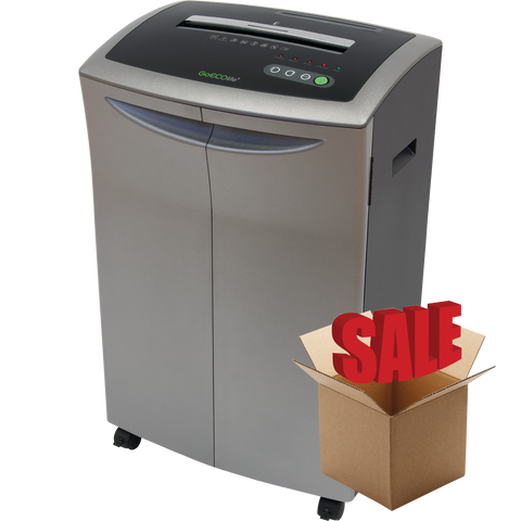 GoECOlife® 14 Sheet Crosscut Commercial Paper Shredder GXC140Ti-R OPEN BOX