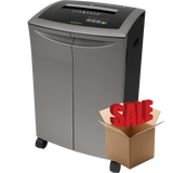 GoECOlife® 20 Sheet Crosscut Commercial Paper Shredder T-Door GXC200TiB-R OPEN BOX