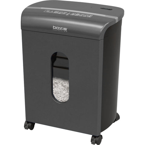 Boxis® NanoShred® BN100P-TTN-RP Repackaged 10 Sheet Nanocut® Shredder - Titanium<br> NANO-SHRED™ - THE NEXT EVOLUTION OF PAPER SHREDDERS