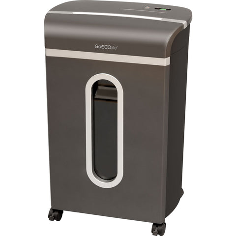 GoECOlife® 10 Sheet Platinum Series Crosscut Commercial Paper Shredder GXC100P
