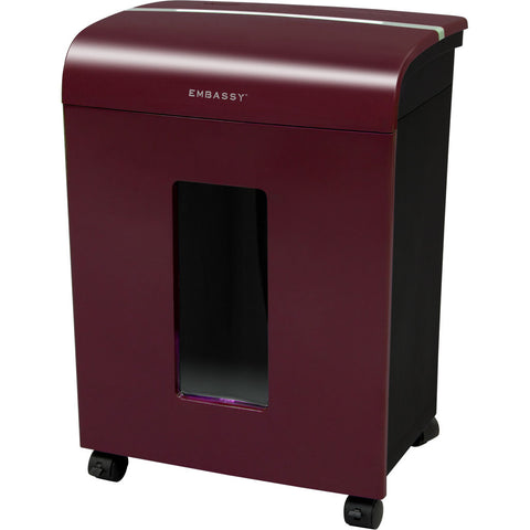 Embassy® 14 Sheet Microcut Paper Shredder LM140Pvi-RP Merlot Repackaged