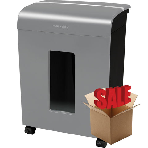 Embassy® 14 Sheet Microcut Paper Shredder LM140Pvii-R Dove Gray OPEN BOX