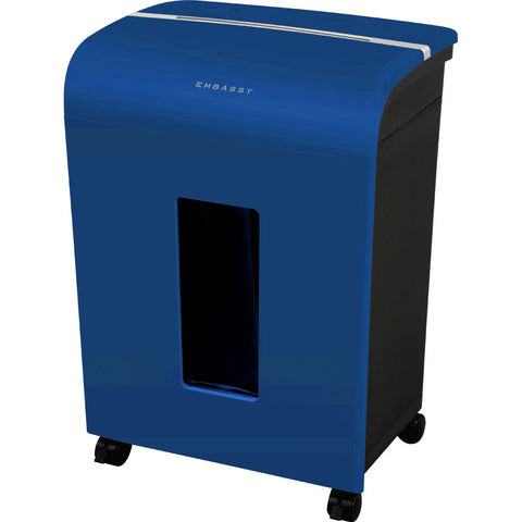 Embassy® 14 Sheet Microcut Paper Shredder LM140Piv-RP Blue Repackaged