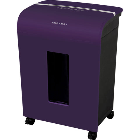 Embassy® 14 Sheet Microcut Paper Shredder LM140Pv Purple