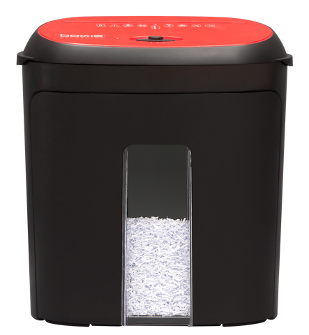 Boxis® NanoShred® 8 Sheet Nanocut® High Security  Shredder BN81P-RED (Red)