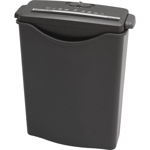 Sentinel® 6 Sheet Stripcut Paper Shredder Fits Over Wastebasket Included FS60B -- Estimated in stock July