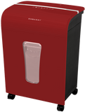 Embassy® 12 Sheet Microcut Paper Shredder LM120Pii-R Red OPEN BOX