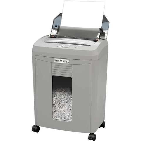Boxis® AutoShred® 50 Sheet Autofeed Microcut Shredder AF50-RP Repackaged