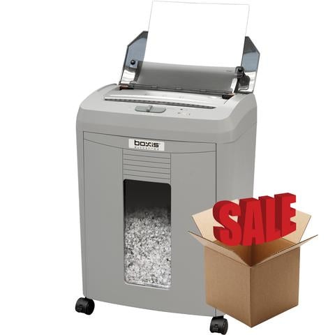 Boxis® AutoShred® 50 Sheet Autofeed Microcut Shredder AF50-R OPEN BOX