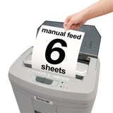 Boxis® AutoShred® 60 Sheet Autofeed Microcut Shredder AF60-R OPEN BOX