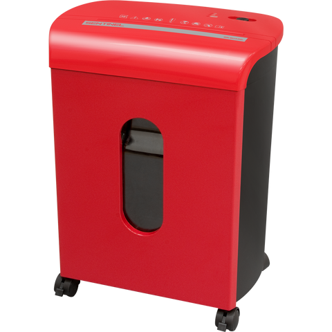 Sentinel® 10 Sheet Microcut Paper Shredder FM104P-RED Red