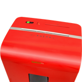 GoECOlife® Limited Edition 12 Sheet Microcut Paper Shredder GMW120Pii-R Red OPEN BOX