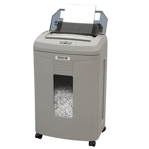 Boxis® AutoShred® 110 Sheet Autofeed Microcut Shredder AF110-RP Repackaged