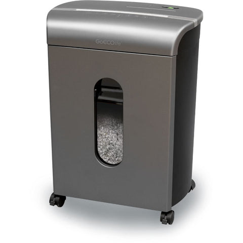 GoECOlife® Limited Edition 14 Sheet Microcut Paper Shredder Titanium GMW140P-TTN