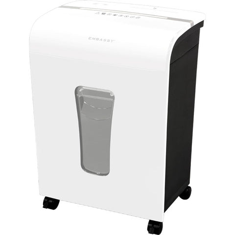 Embassy® 12 Sheet Microcut Paper Shredder LM120Pi-RP White Repackaged