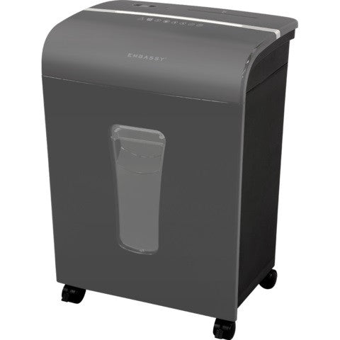 Embassy® 12 Sheet Microcut Paper Shredder LM120Pv-RP Gray Repackaged