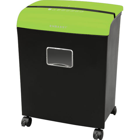 Embassy® 12 Sheet Microcut Paper Shredder LM121Pvii Green Top