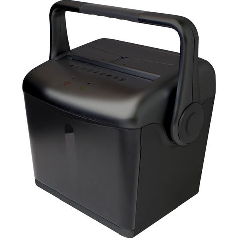 Embassy® 8 Sheet Microcut Paper Shredder with EZ-Lift® Handle LM80H Black