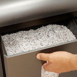 Boxis® NanoShred® BN100P-RED 10 Sheet Nanocut® Shredder - Red<br> NANO-SHRED® - THE NEXT EVOLUTION OF PAPER SHREDDERS