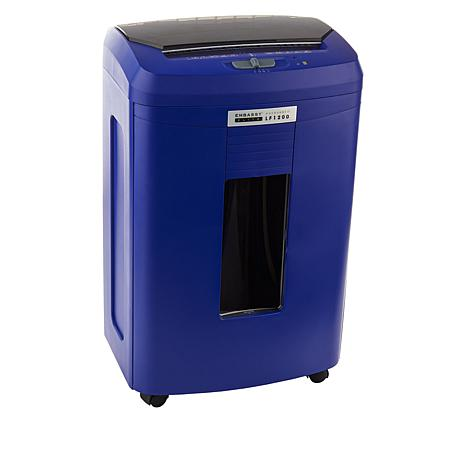Embassy® Elite 120 Sheet Autofeed Microcut Shredder LF1200-BLE Blue