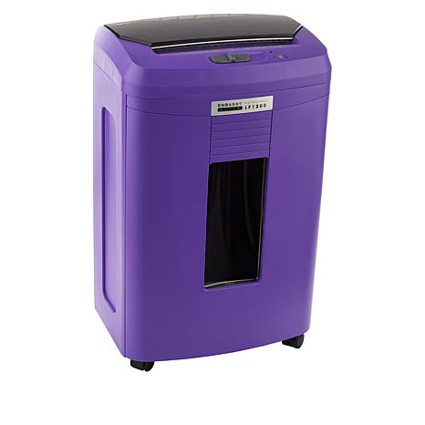 Embassy® Elite 120 Sheet Autofeed Microcut Shredder LF1200-PUR Purple