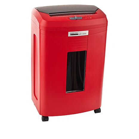 Embassy® Elite 120 Sheet Autofeed Microcut Shredder LF1200-RED Red