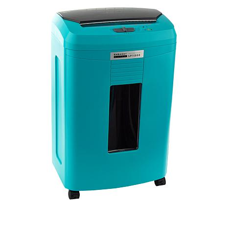 Embassy® Elite 120 Sheet Autofeed Microcut Shredder LF1200-TUR Turquoise