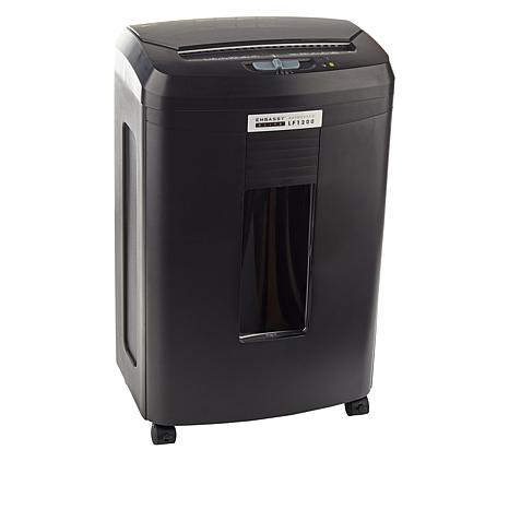 Embassy® Elite 120 Sheet Autofeed Microcut Shredder LF1200-BLK Black
