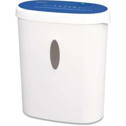 GoECOlife® Limited Edition 8 Sheet Microcut Paper Shredder GMA81B-BLE Blue
