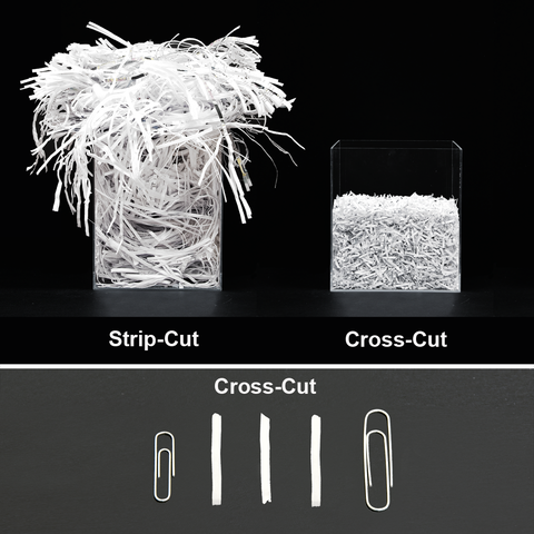 crosscut paper shredder Shredder reviews by: the din recommends crosscut shredders with a security level of p-3 or higher if your paper shredder says it can accept 8 sheets.
