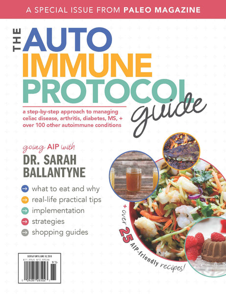 The Auto Immune Protocol Guide - Special Edition (Hard Copy)
