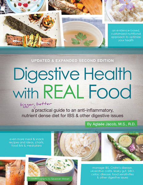 Digestive Health with REAL Food - Updated & Expanded 2nd Edition (Digital)