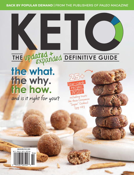 2019 Keto - The Updated & Expanded Definitive Guide (Hard Copy)