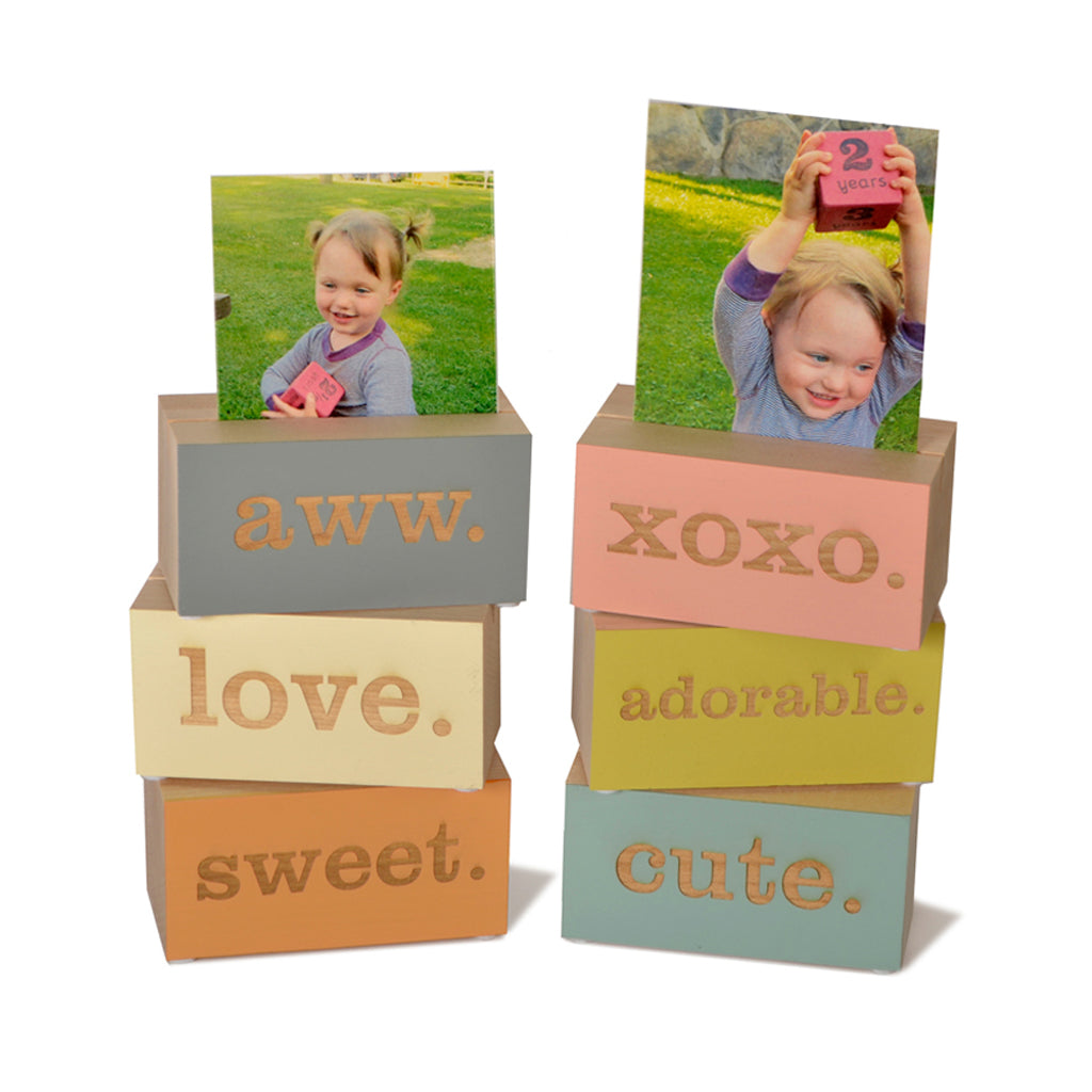 photo holder blocks