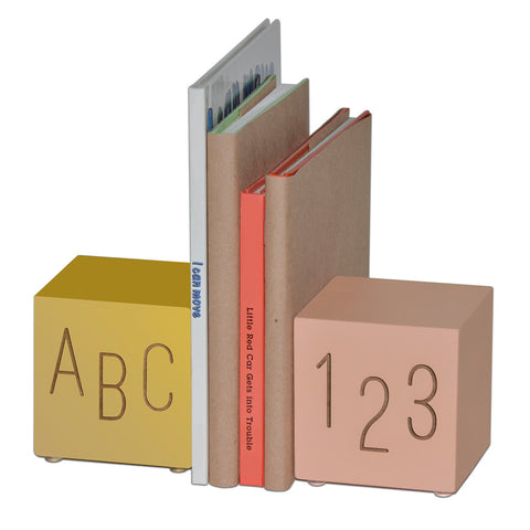 abc123 bookends (3 color sets) - Tree by Kerri Lee