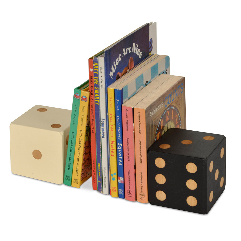 dice bookend