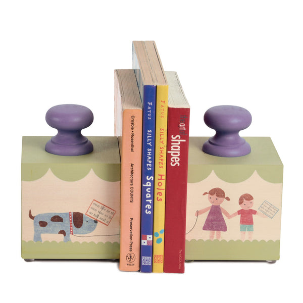 animal pair bookends (3 styles) - Tree by Kerri Lee