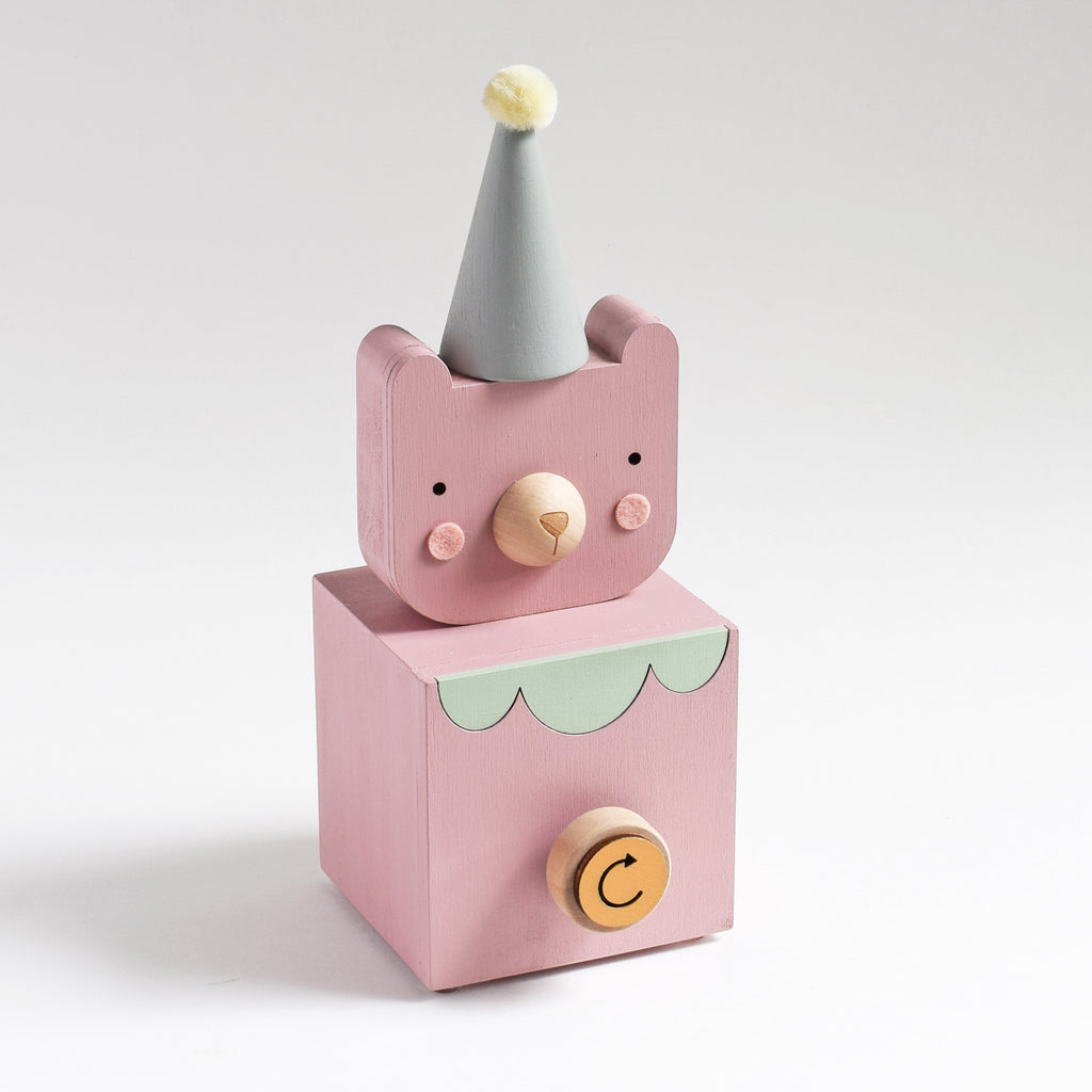 Darling Circus Bear Music Box - Tree by Kerri Lee