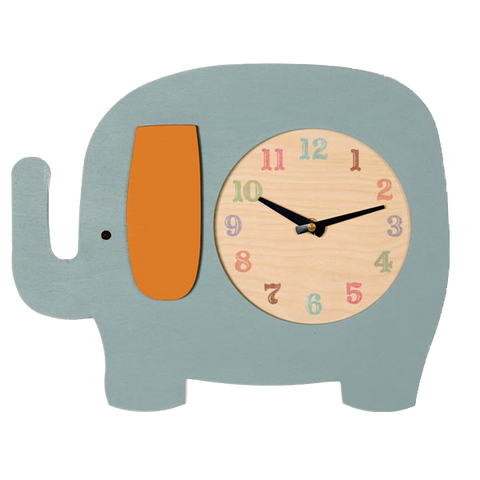 elephant clock (2 colors) - Tree by Kerri Lee